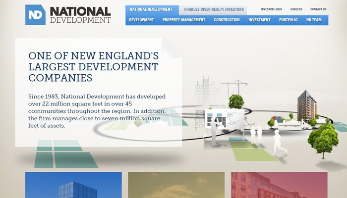 real estate firm national development
